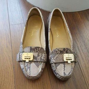Cole Haan Snake Skin Loafers